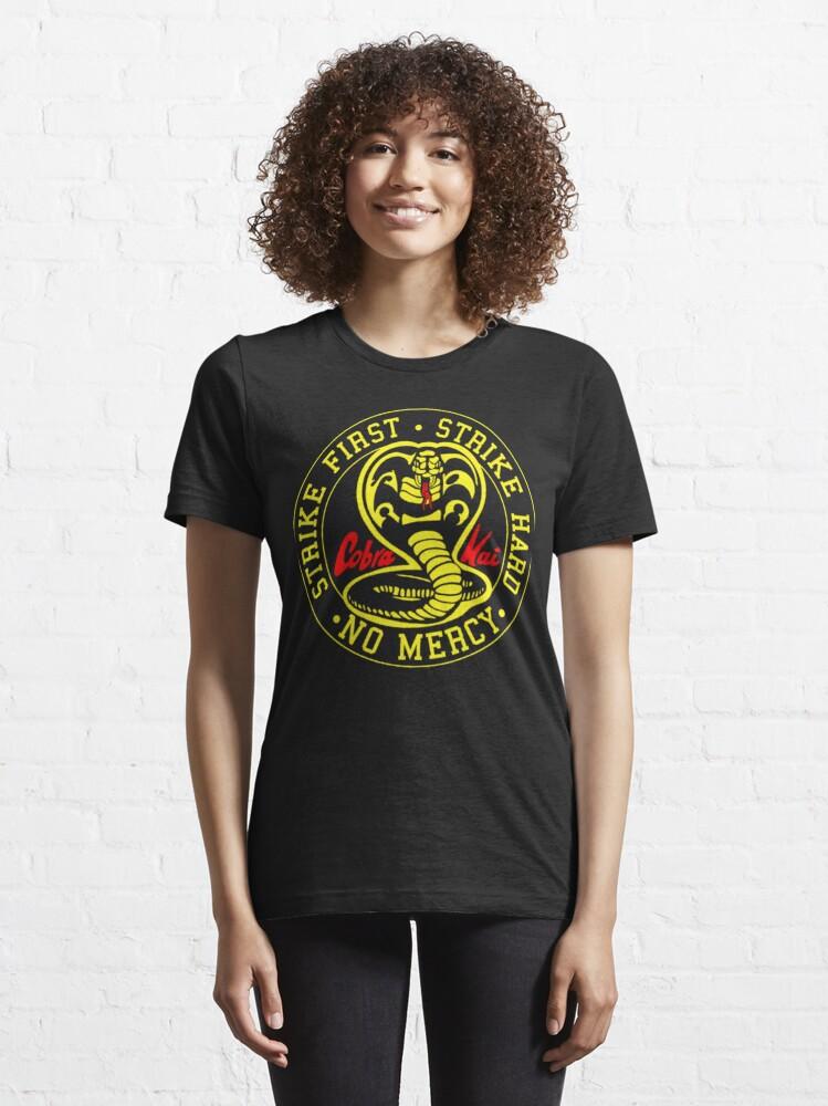 Alternate view of Cobra Kai Vintage Tri-Blend Shirt ,Cobra Kai Karate Kid Inspired Kids Essential T-Shirt
