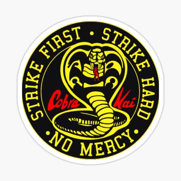 Cobra Kai Vintage Tri-Blend Shirt ,Cobra Kai Karate Kid Inspired Kids Sticker