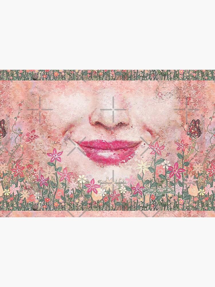 """Grow"" (garden, earth) painting - ""Smile"" Fine Art series by CaraSonrisa"