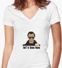 Gary King  Women's Fitted V-Neck T-Shirt