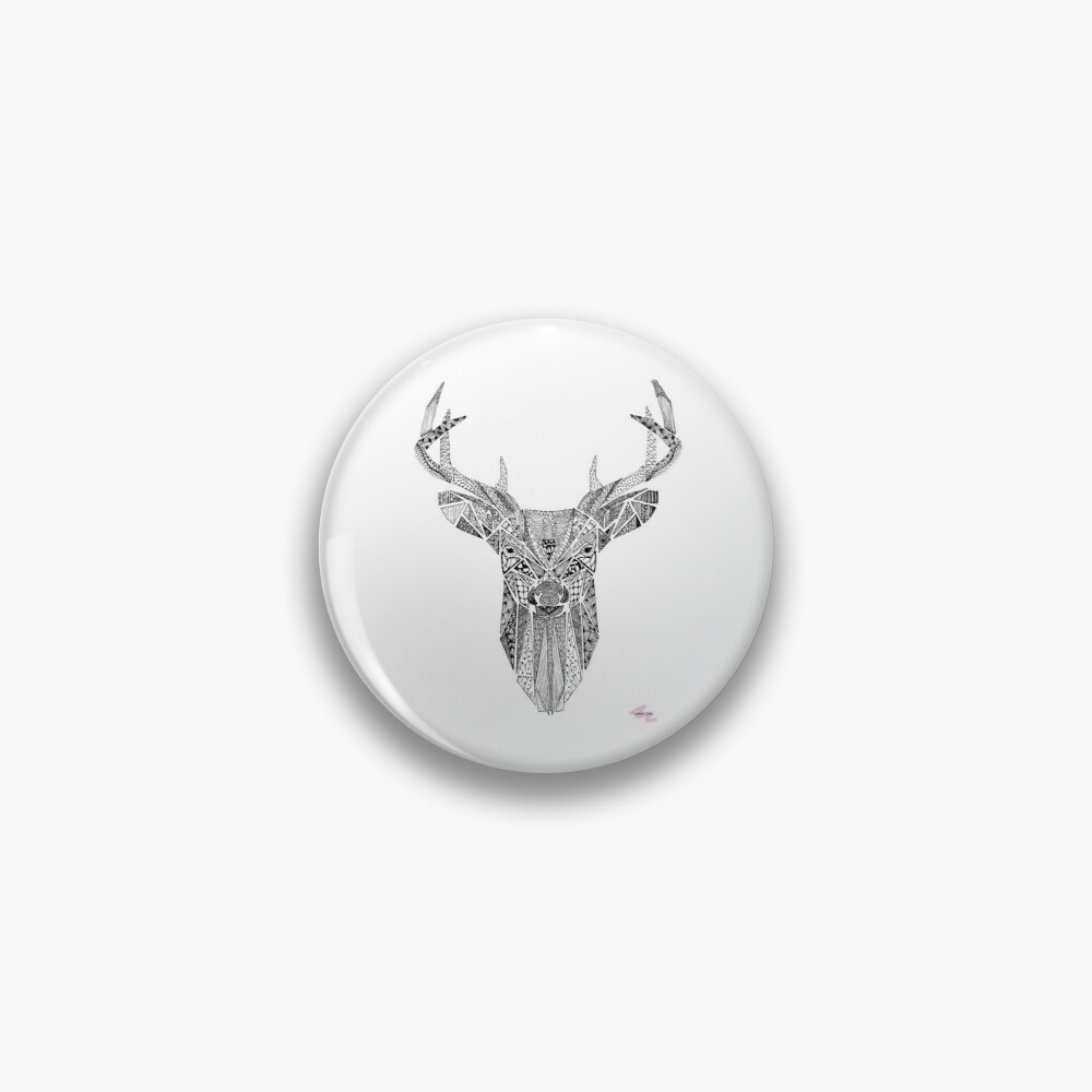 Mr Stag Pin