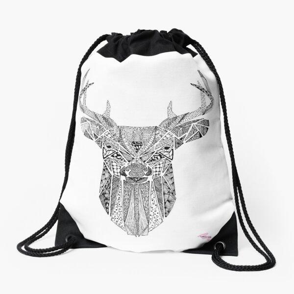 Mr Stag Drawstring Bag
