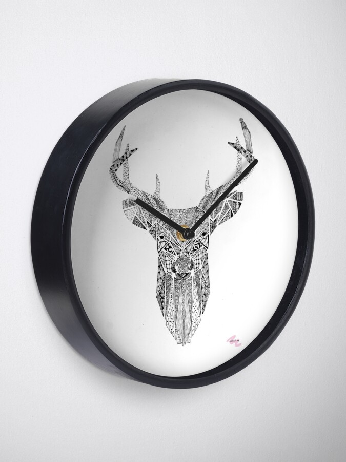 Alternate view of Mr Stag Clock
