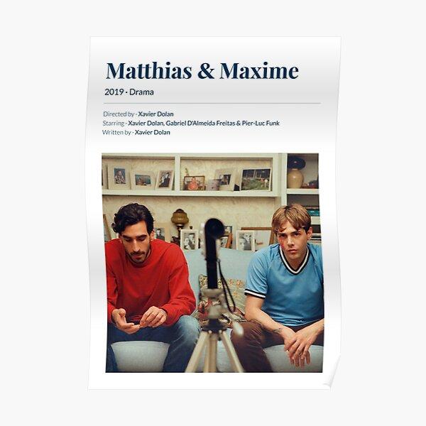 Matthias & Maxime (2019) Xavier Dolan Movie  Poster