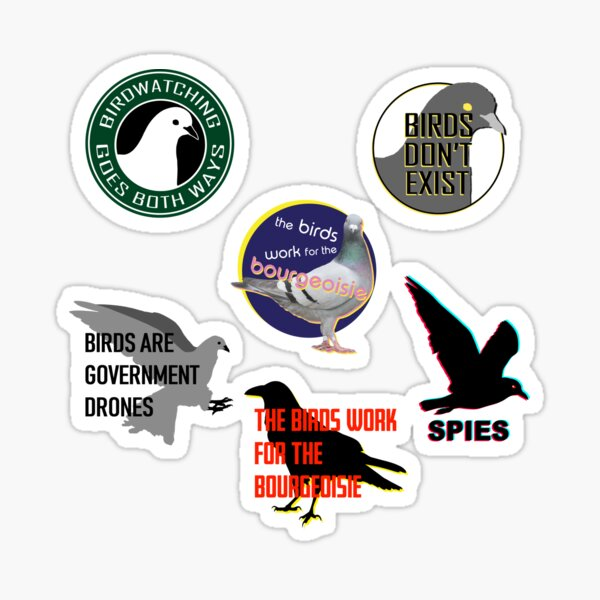 BIRDS ARENT REAL STICKER VALUE PACK (LIMITED TIME OFFER) Sticker