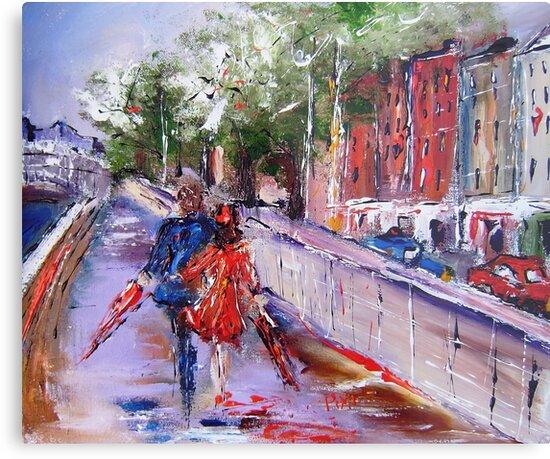 romance on the boardwalk  by artistpixi