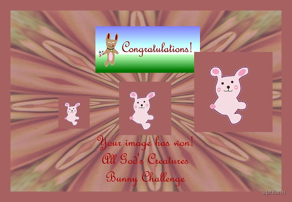 Banner AGC Bunny Challenge Winner by aprilann
