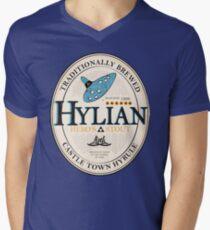 Hylian Hero's Stout Men's V-Neck T-Shirt