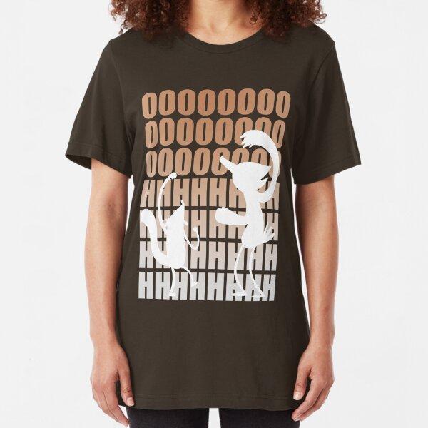 Regular Show / Mordecai & Rigby Tee / Light Variant Slim Fit T-Shirt