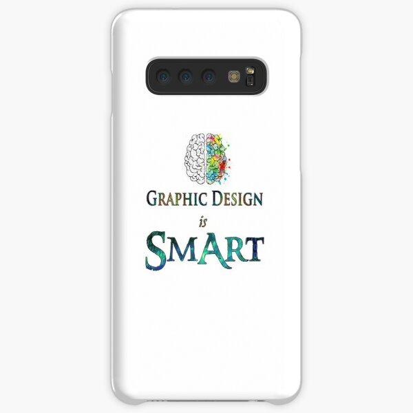 Graphic Design is Smart Art Samsung Galaxy Snap Case