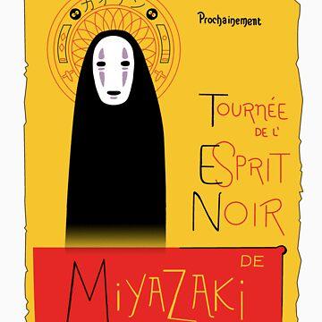 L'esprit noir by piluc