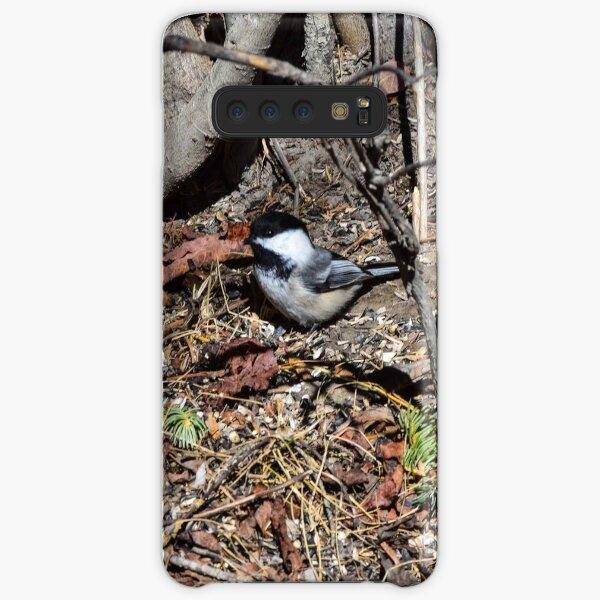 Foraging Chickadee. Samsung Galaxy Snap Case