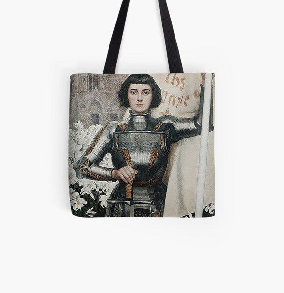Joan of Arc- Albert Lynch All Over Print Tote Bag