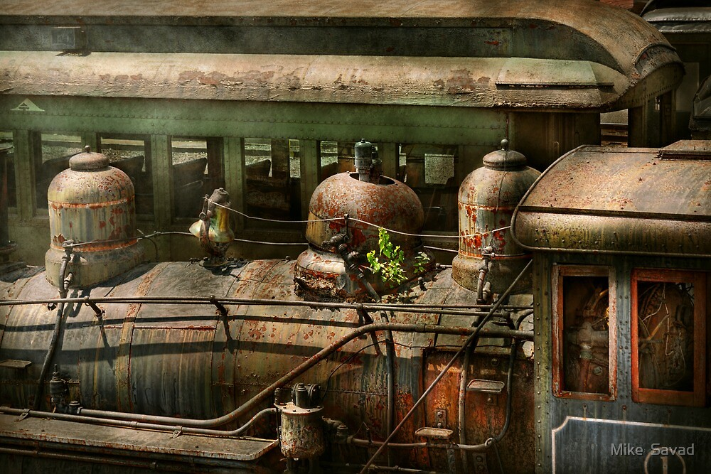 Train - Showing your age by Michael Savad