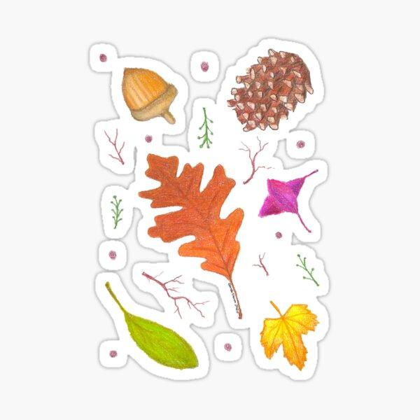 Fall Feelings Sticker