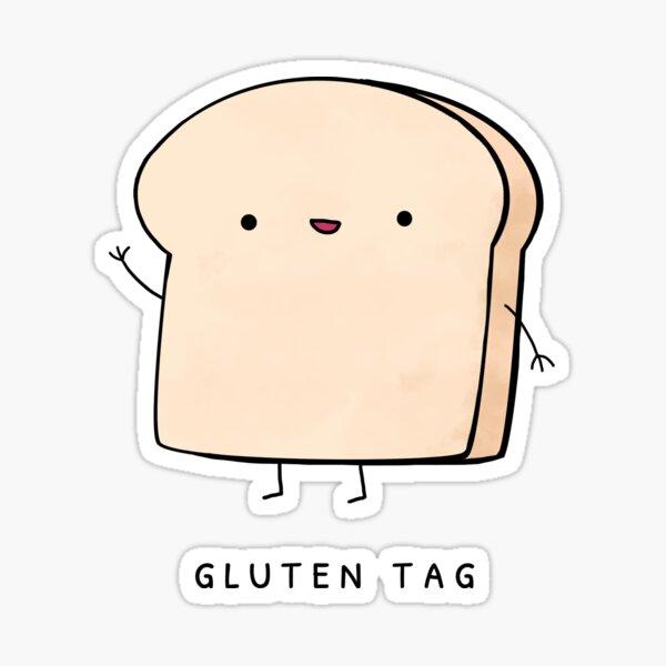 Gluten Tag Sticker