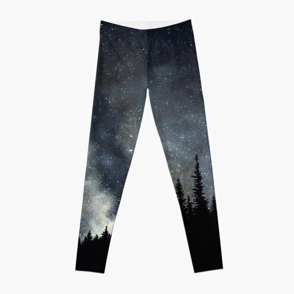 We Are Stardust - A Milky Way Starscape Leggings