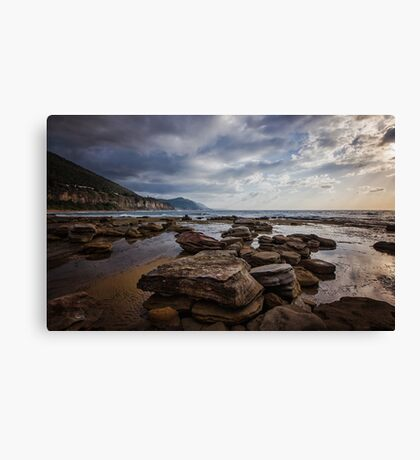 Coalcliff Rocks Canvas Print