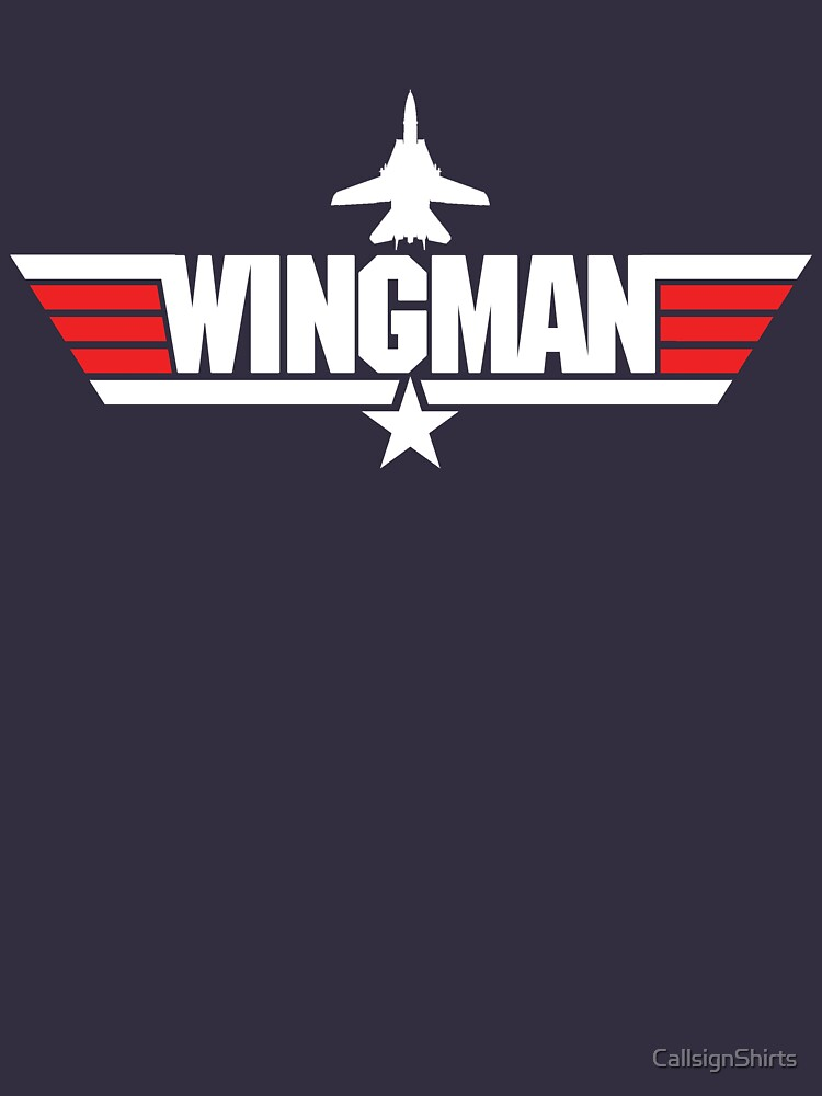Custom Top Gun Style Style - Wingman | Unisex T-Shirt
