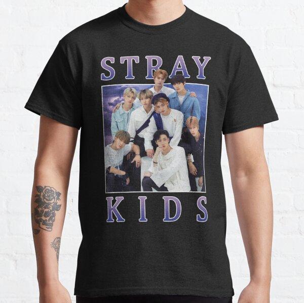 STRAY KIDS Vintage Retro Band Style des années 90 T-shirt classique