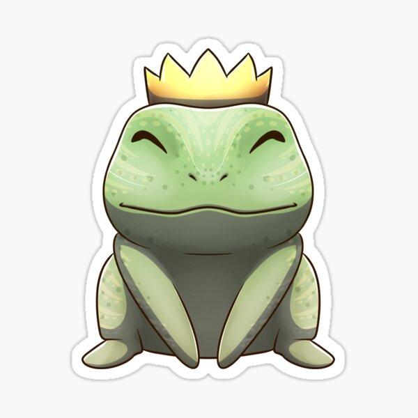 Frog Prince (Centered) Sticker