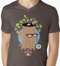 Anna Log Men's V-Neck T-Shirt
