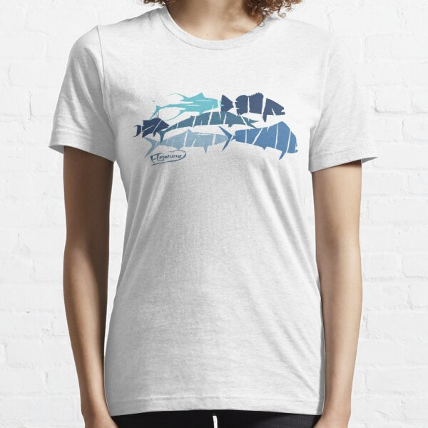 Fish collage ripped  Essential T-Shirt