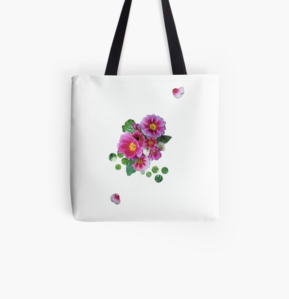 Floral Explosion All Over Print Tote Bag