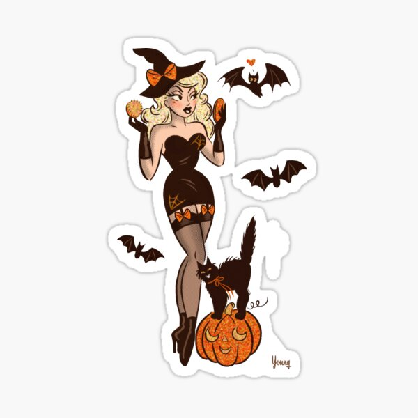 Vanity Witch Sticker