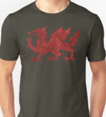 Welsh Red Dragon Unisex T-Shirt