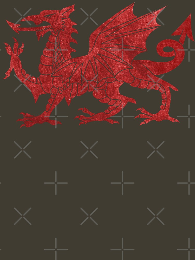 Welsh Red Dragon by GrizzlyGaz