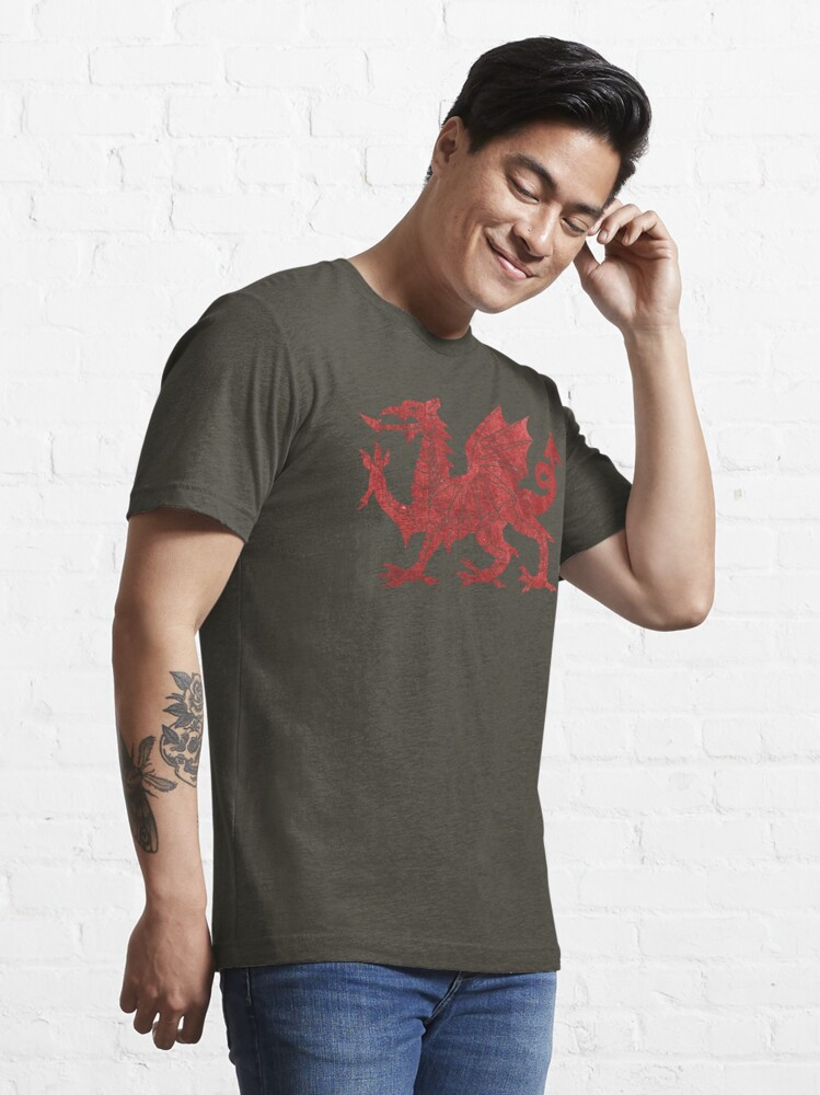 Alternate view of Welsh Red Dragon Essential T-Shirt