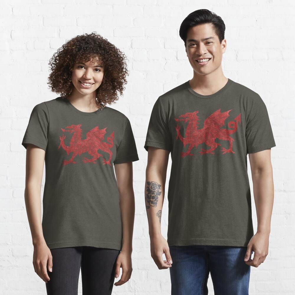 Welsh Red Dragon Essential T-Shirt
