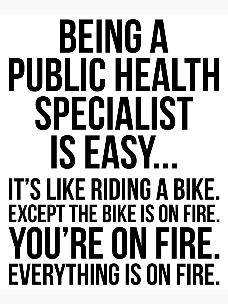 Being A Public Health Specialist Is Easy by kamrankhan