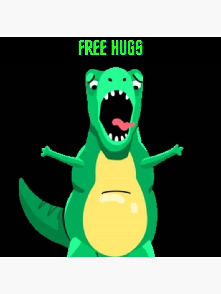 Free Hugs Meme Posters Redbubble
