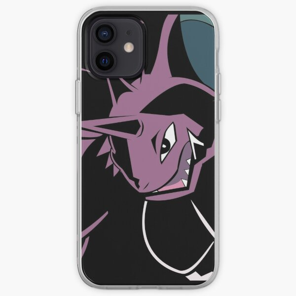 Nidoking in Shadows iPhone Soft Case
