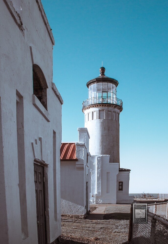 Buildings of North Head Lighthouse by Troy Stapek