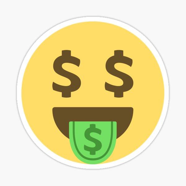 Dollar Emoji Stickers Redbubble