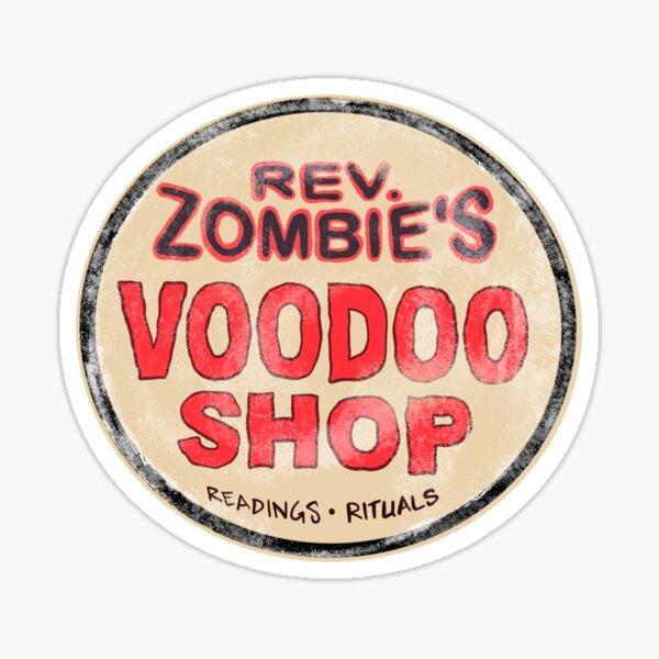 Rev Zombie's Voodoo Shop Sticker