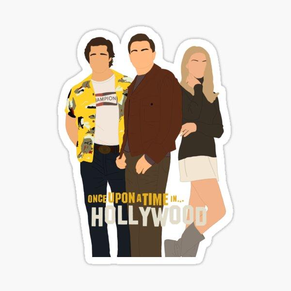 Il était une fois à Hollywood l'affiche du film Sticker