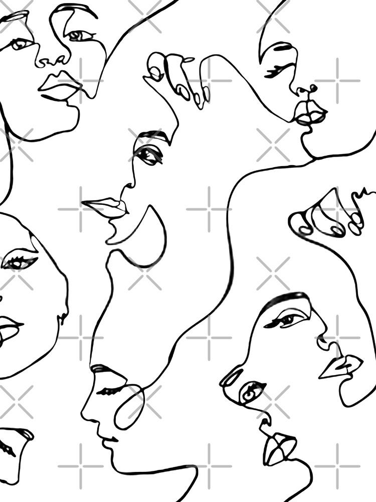 One Line Art  by GabrielleChanel