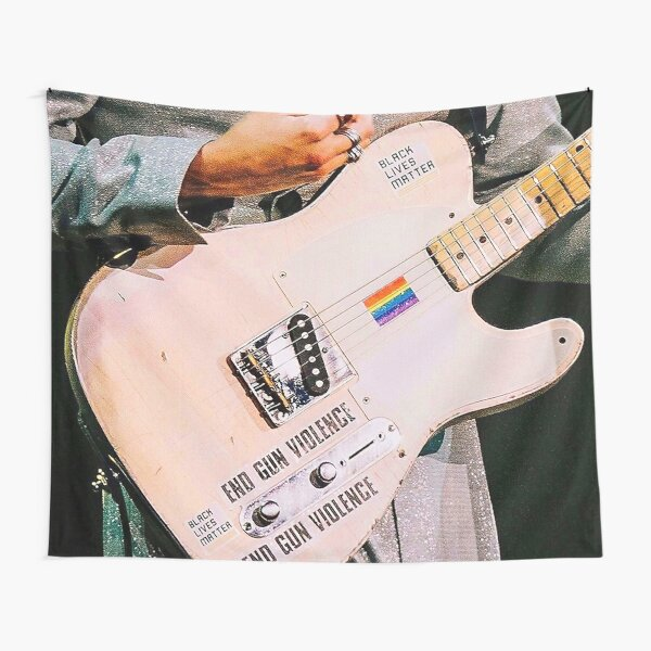 Beautiful Guitar Tapestry