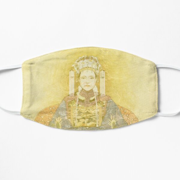 Chinese Empress on Her Throne Flat Mask