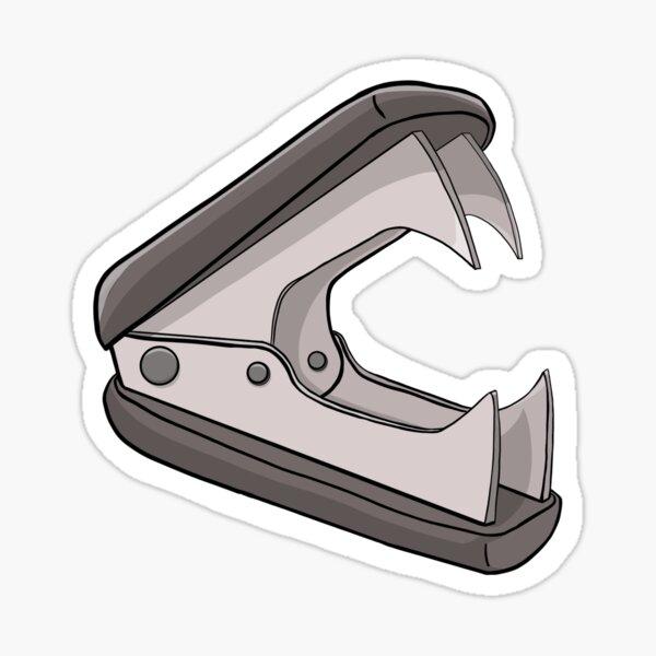 Staple puller Sticker
