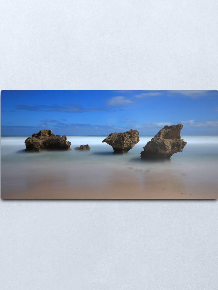 Alternate view of Montforts beach - Blairgowrie Metal Print