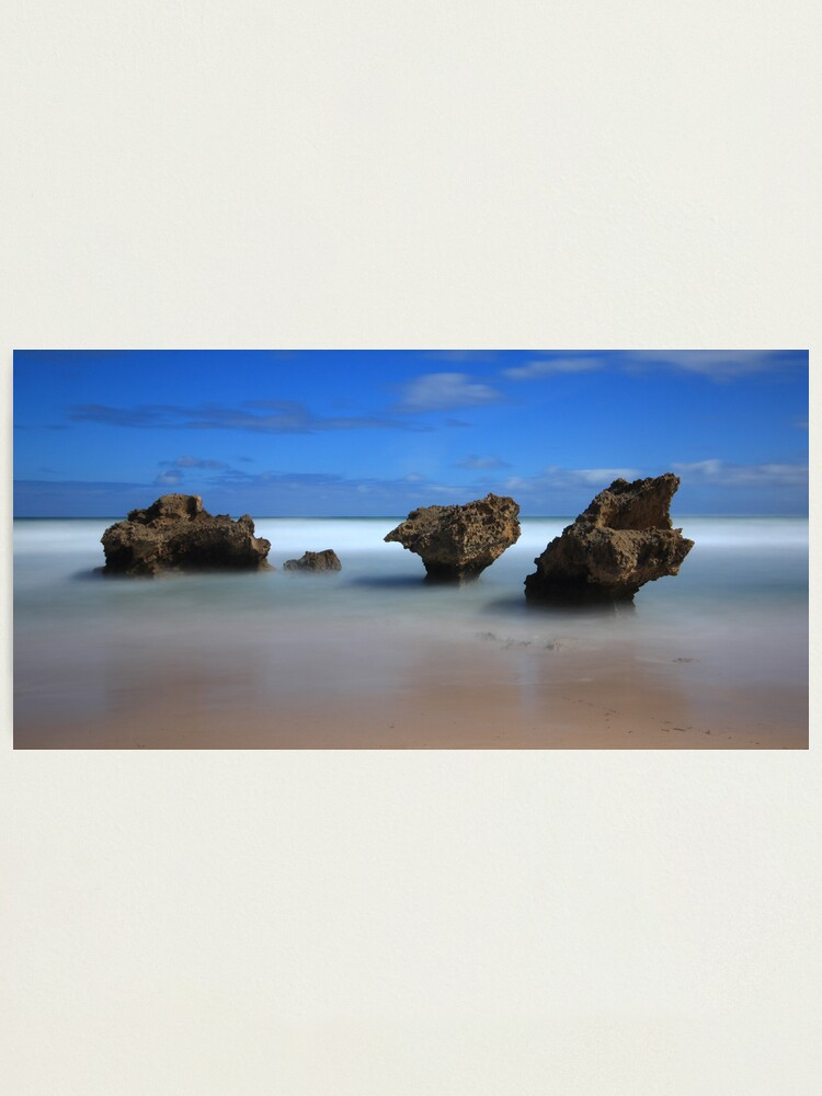Alternate view of Montforts beach - Blairgowrie Photographic Print