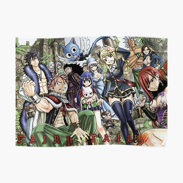 Fairy Tail 4 Poster