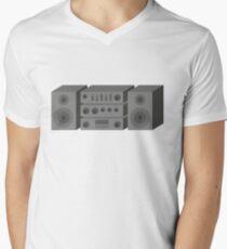Stereo Men's V-Neck T-Shirt