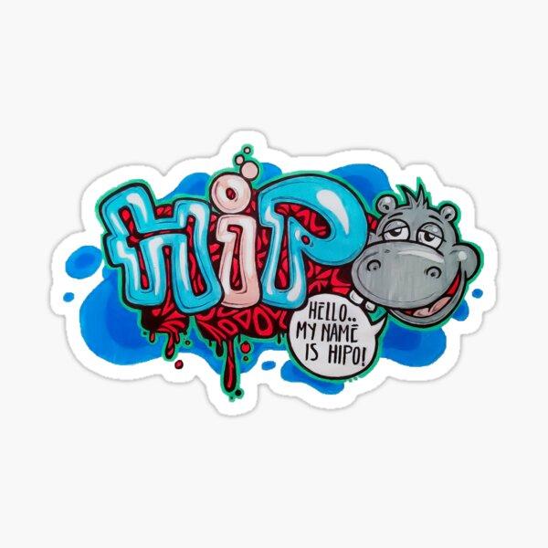 Hello Hipo! Sticker