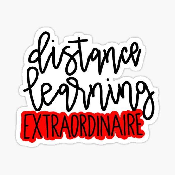 Distance Learning Extraordinaire Sticker